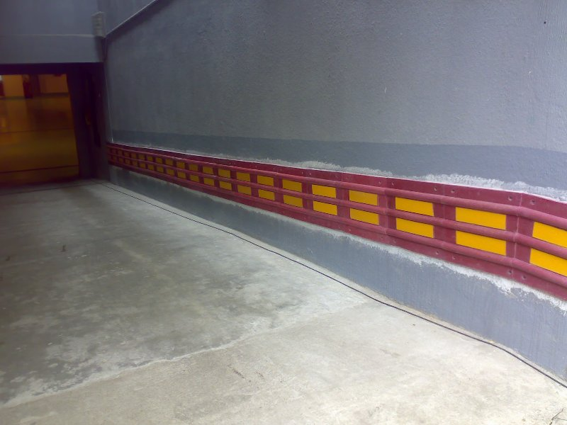 Bumpers  for walls, foresides, columns